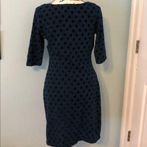 Anthropologie Dresses - Anthropologie Weston teal polka dot dress, Sz med